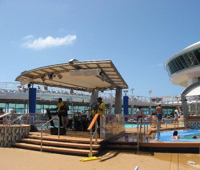 Band on the Pool Deck