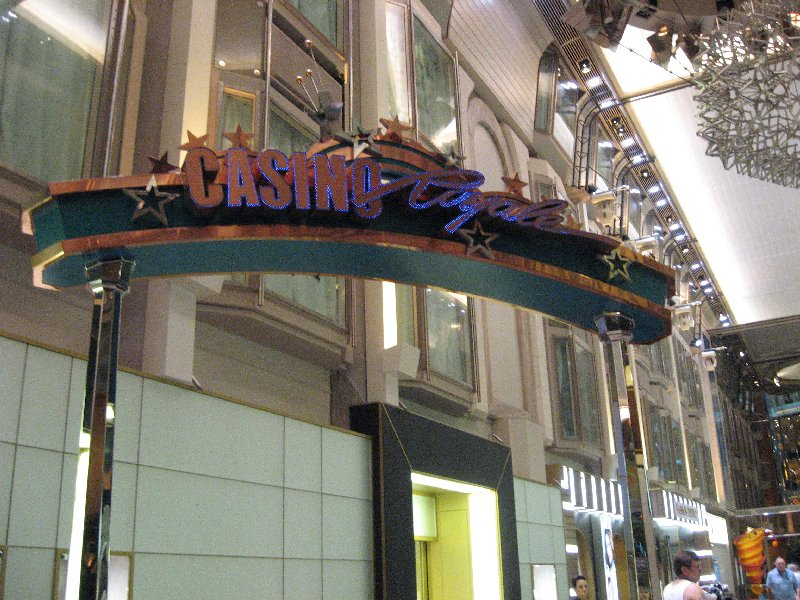 """The Casino Royale- Table Games and """"pokies"""" on Deck 4"""