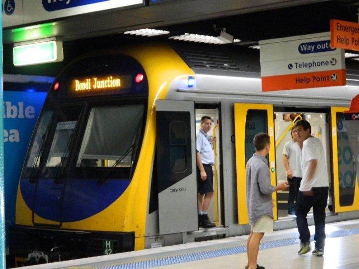 Public transport, Kings Cross Sydney 2012
