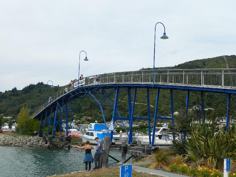 coathanger Bridge Picton NZ