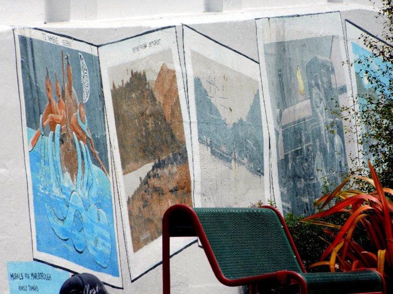 murals, Picton NZ