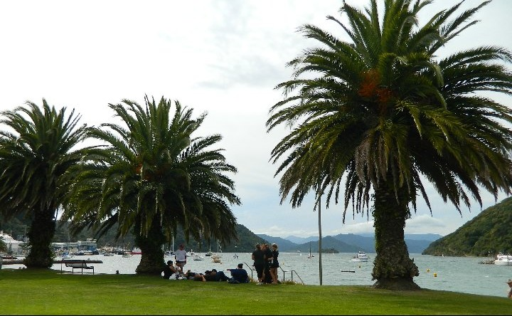 The waterfront at Picton