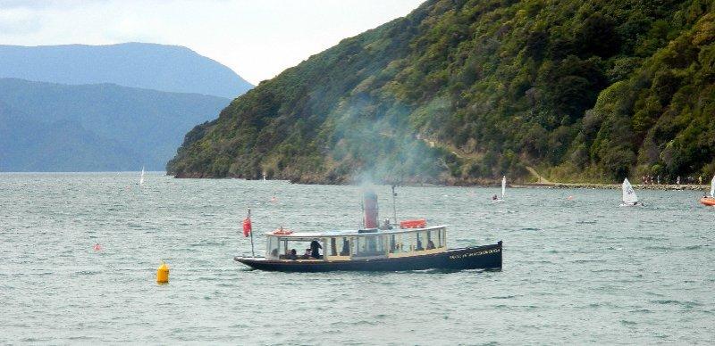 Duke of Marlborough steam ship. Picton NZ