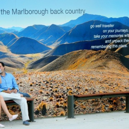 poster in Picton NZ