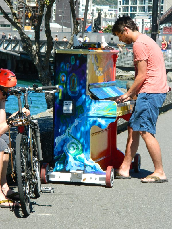Street Piano Wellington NZ