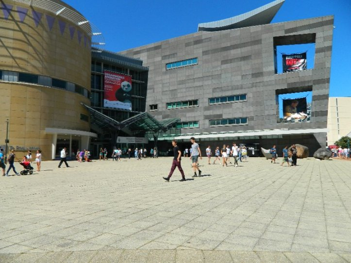 The Te Papa -National Museum and Art Gallery of New Zealand.