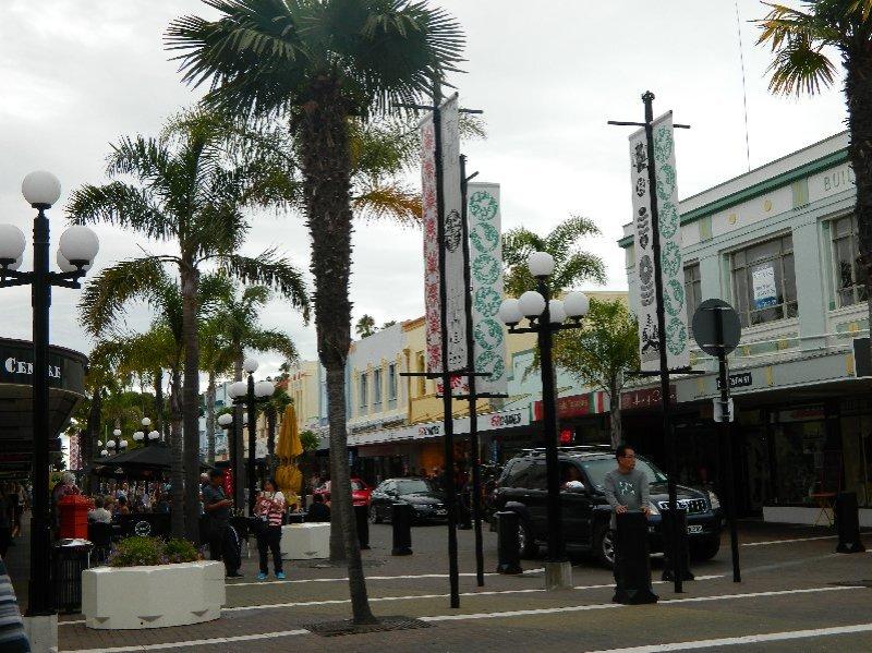 Napier's main street.