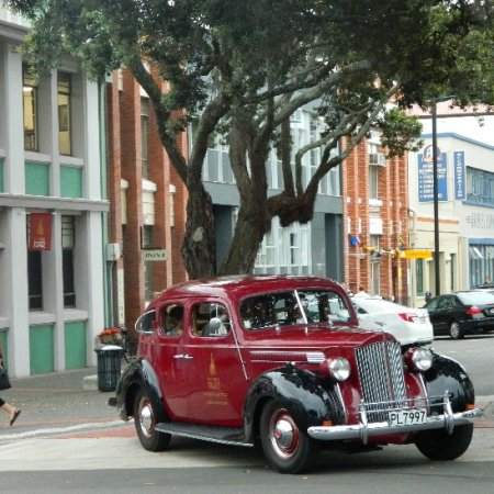 One of the cars used by the Napier's Art Deco Trust.