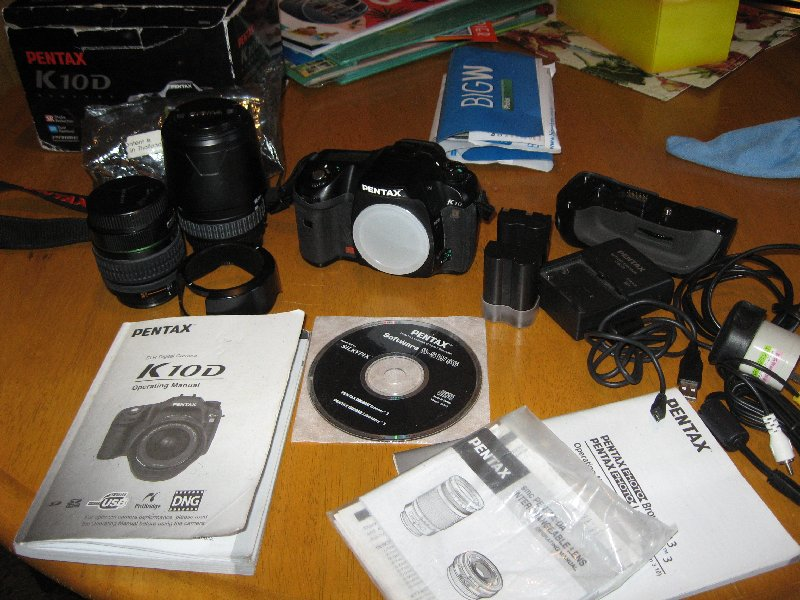 My new camera arrives.