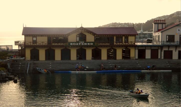 Boat Shed Wellington
