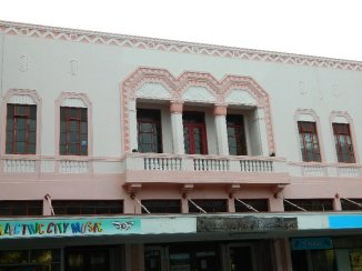One of the lovely buildings in Napier NZ
