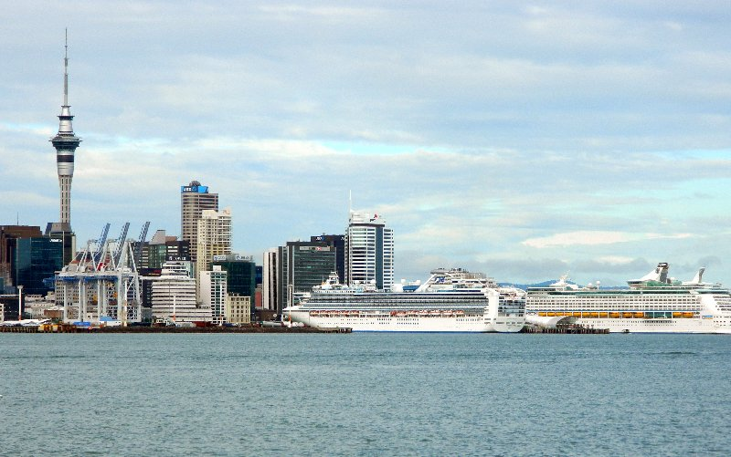 The Sky Tower is the tallest building in Auckland.