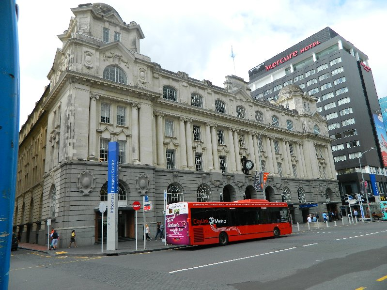 The Britomart Building, Auckand's Transport hub.