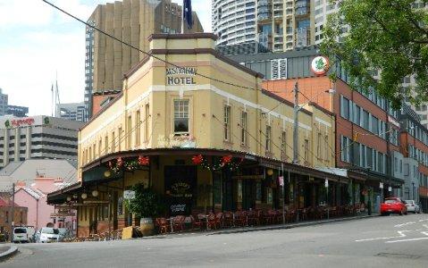 The Australian Hotel, The Rocks, Sydney