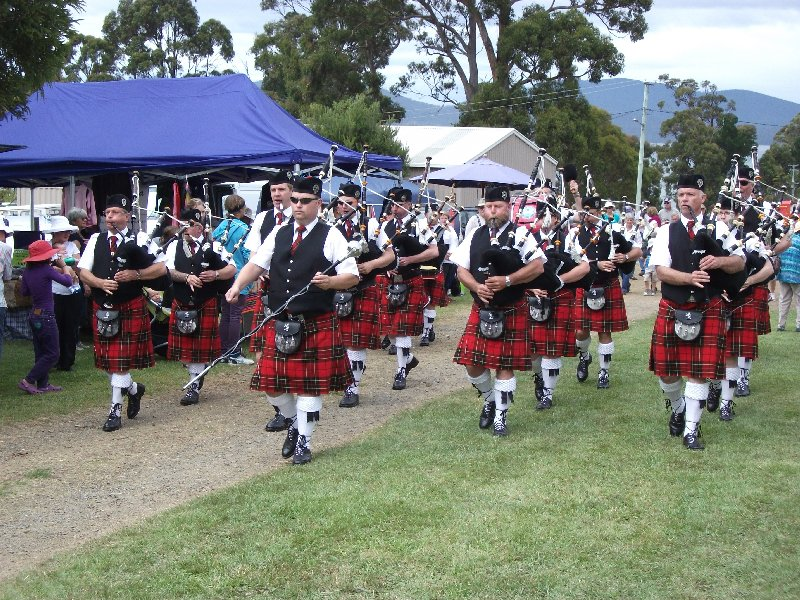 Pipe band Middleton Fair