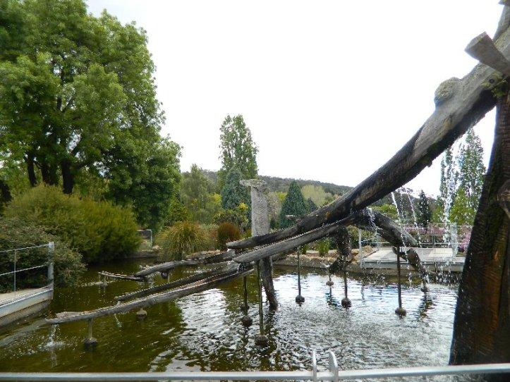 fountain Hobart Botanical Gardens