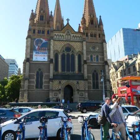 Melbourne's St Patrick's Cathederal.