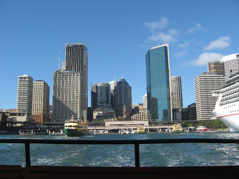 Sydney's ultra modern skyline. March 2016