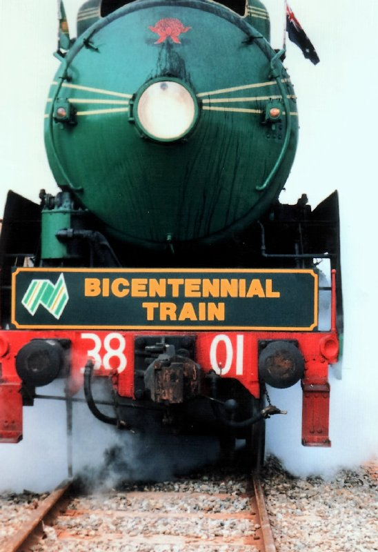 Bicentennial Train 1988.