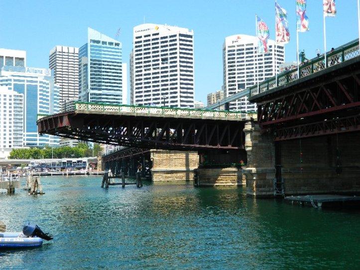 Pyrmont Bridge, Darling Harbour Sydney 2012