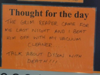 """Dyson with Death"""