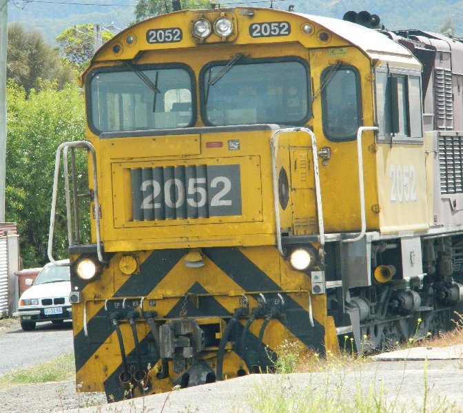 Tasmanian Railways diesel engine.