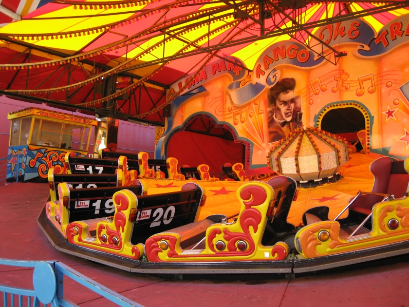 One of the rides at Luna Park, Sydney