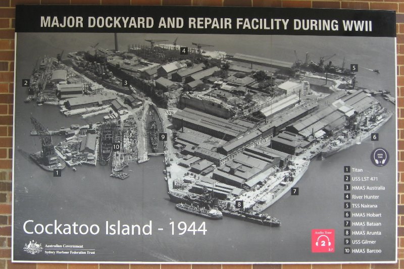 A Visit to Cockatoo Island