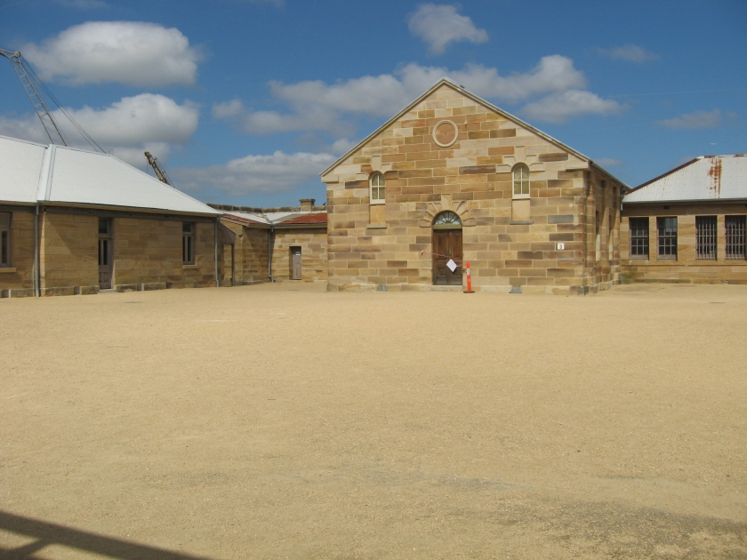 One of the convict era buildings.