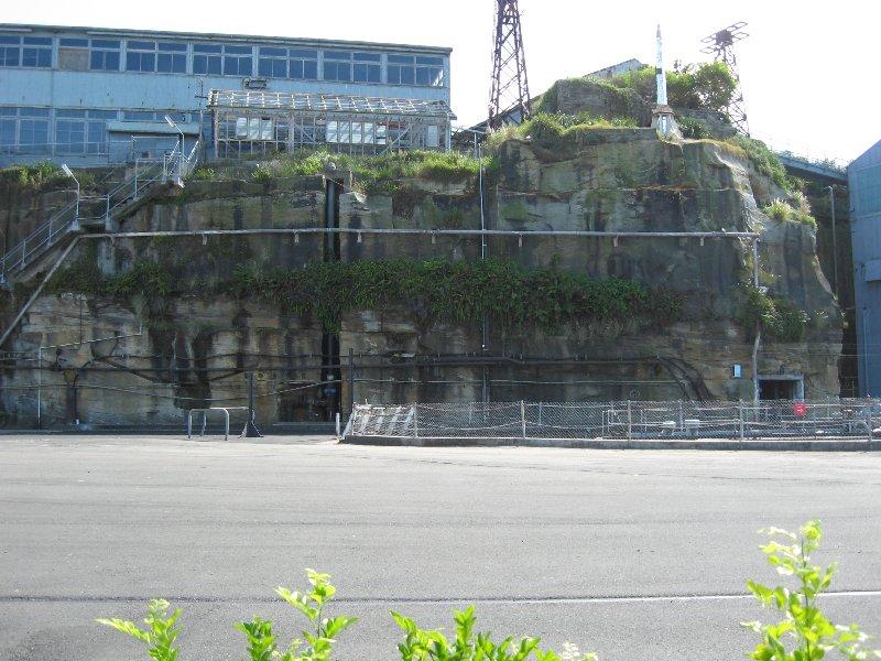 rocks Cockatoo Island