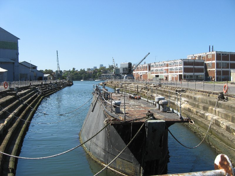Convict built Fitzroy Dock