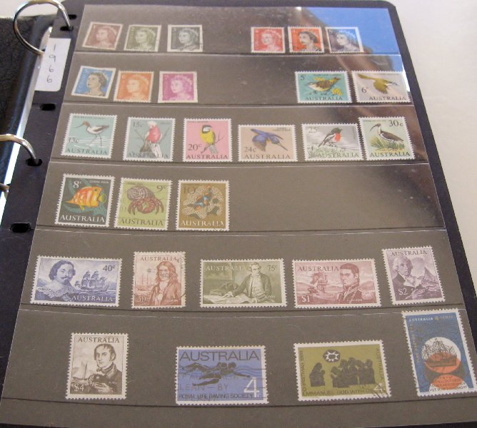Australian Stamps 1966