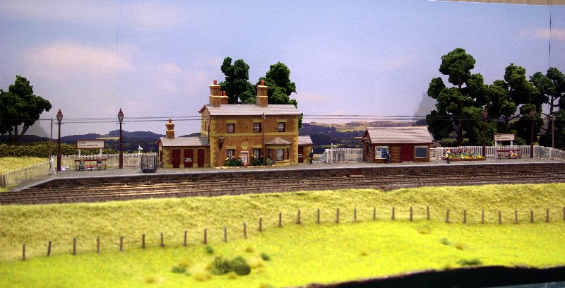 Station in the Welsh countryside.