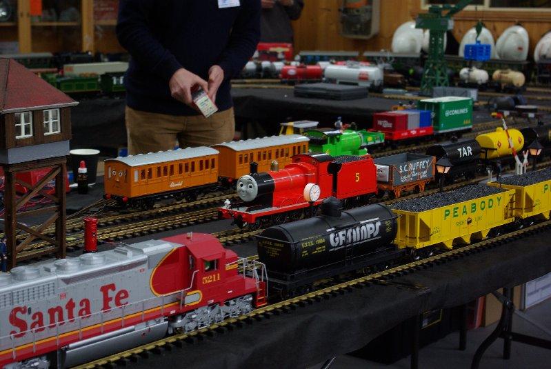 O gauge railway.