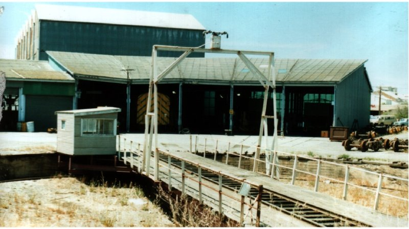The Turntable at Pt Lincoln, SA 1990s