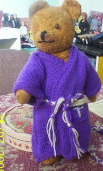 Another Teddy waiting for eye surgery.