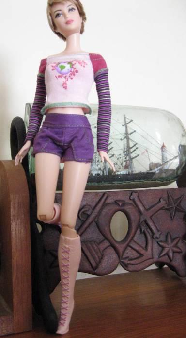 Tris - Fuchsia and Mauve Closet