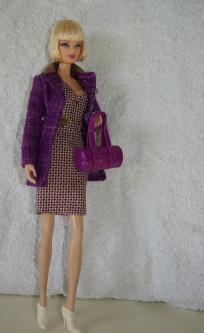 Becky - Hilary Duff Purple and Pink Closet