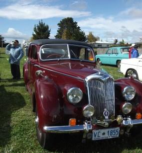 Vintage Car Oatlands. Tasmania