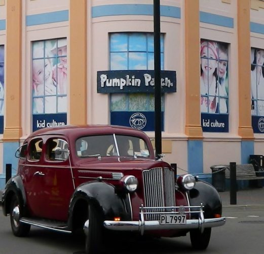 Vintage car Napier NZ