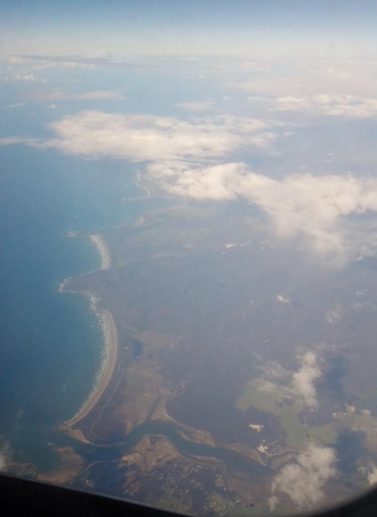 The northern coast of Tasmania.