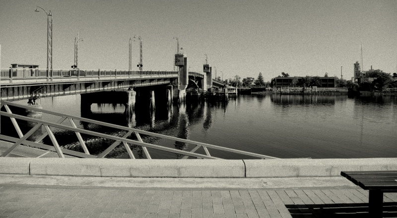 Bridge over the Port River, Port Adelaide , SA