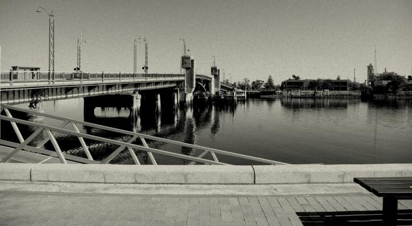 Bridge over the Port River, Port Adelaide , SA