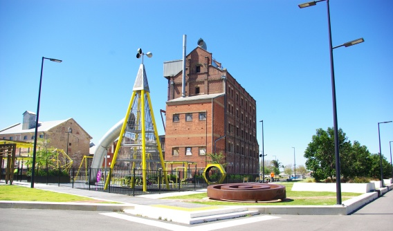The Hart's Mill Redevelopment. Port Adelaide