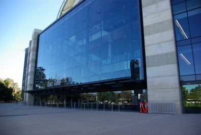 Adelaide Oval - east gate