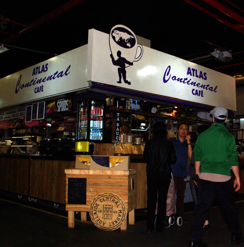 A stall at Adelaide's Central Market.