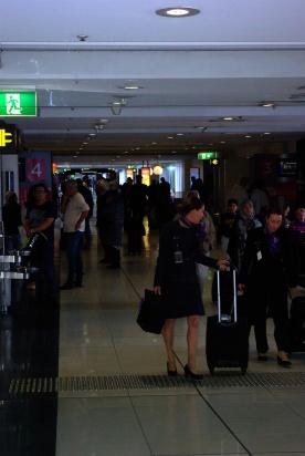 Domestic Terminal Melbourne.