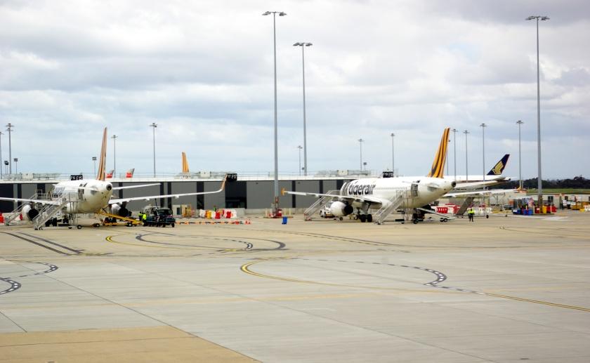 Apron Domestic Terminal Melbourne