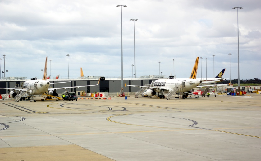 Apron Domestic Terminal Melbourne