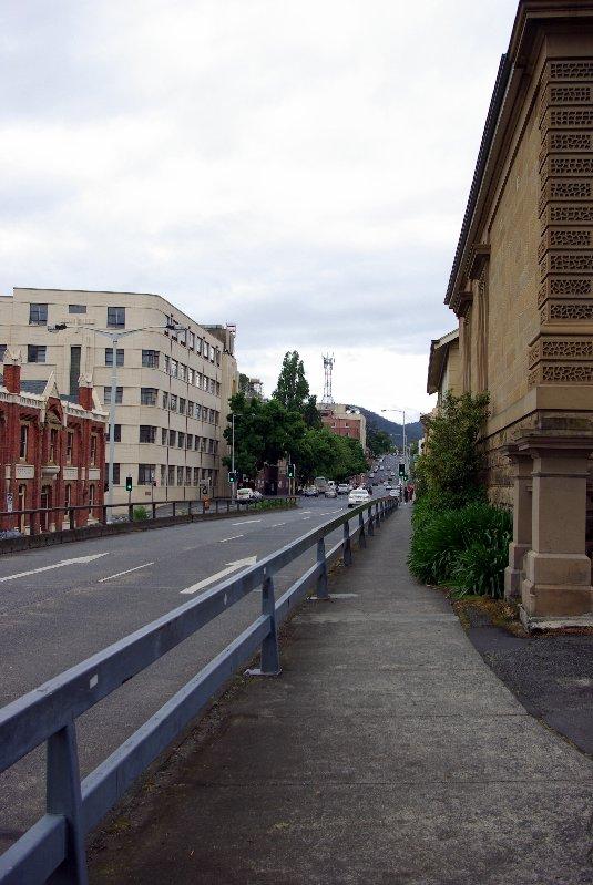 Davey St, Hobart.